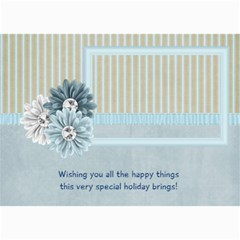 Calming Winter Photo Cards By Bitsoscrap   5  X 7  Photo Cards   06vwl3yizlmu   Www Artscow Com 7 x5 Photo Card - 1