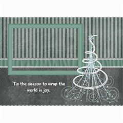Calming Winter Photo Cards By Bitsoscrap   5  X 7  Photo Cards   06vwl3yizlmu   Www Artscow Com 7 x5 Photo Card - 2