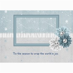 Calming Winter Photo Cards By Bitsoscrap   5  X 7  Photo Cards   06vwl3yizlmu   Www Artscow Com 7 x5 Photo Card - 6