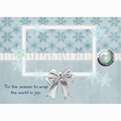 Calming Winter Photo Cards By Bitsoscrap   5  X 7  Photo Cards   06vwl3yizlmu   Www Artscow Com 7 x5 Photo Card - 7