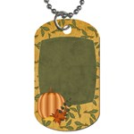Sweet Harvest Pumpkin Tag - Dog Tag (One Side)