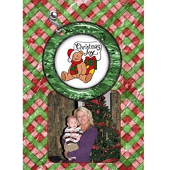 Christmas Joy Christmas Card By Lil    Greeting Card 5  X 7    8xjfu32kp5jh   Www Artscow Com Front Cover
