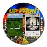 Up Front Round Mouse Pad - Round Mousepad