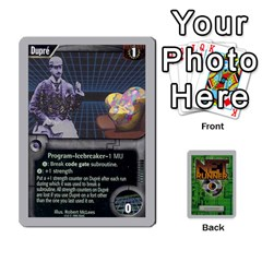 Netrunner Bs Runner 03 By Pedrito   Playing Cards 54 Designs   Li7rnaqdjv0i   Www Artscow Com Front - Diamond7
