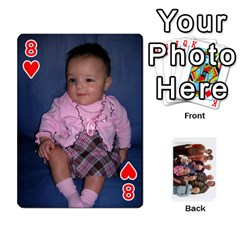 Playing Cards By Sam Gordon   Playing Cards 54 Designs   Ocp9btpfcetu   Www Artscow Com Front - Heart8