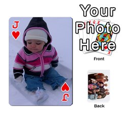 Jack Playing Cards By Sam Gordon   Playing Cards 54 Designs   Ocp9btpfcetu   Www Artscow Com Front - HeartJ