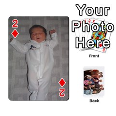 Playing Cards By Sam Gordon   Playing Cards 54 Designs   Ocp9btpfcetu   Www Artscow Com Front - Diamond2