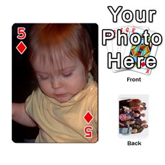 Playing Cards By Sam Gordon   Playing Cards 54 Designs   Ocp9btpfcetu   Www Artscow Com Front - Diamond5