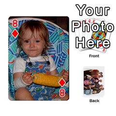 Playing Cards By Sam Gordon   Playing Cards 54 Designs   Ocp9btpfcetu   Www Artscow Com Front - Diamond8