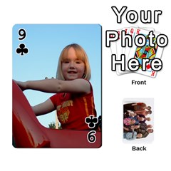 Playing Cards By Sam Gordon   Playing Cards 54 Designs   Ocp9btpfcetu   Www Artscow Com Front - Club9