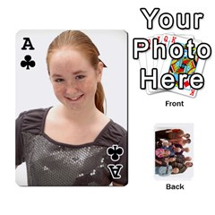 Ace Playing Cards By Sam Gordon   Playing Cards 54 Designs   Ocp9btpfcetu   Www Artscow Com Front - ClubA