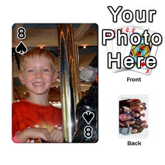 Playing Cards By Sam Gordon   Playing Cards 54 Designs   Ocp9btpfcetu   Www Artscow Com Front - Spade8