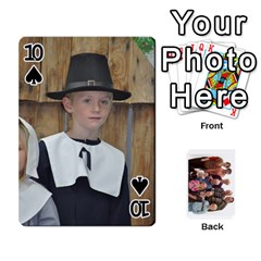 Playing Cards By Sam Gordon   Playing Cards 54 Designs   Ocp9btpfcetu   Www Artscow Com Front - Spade10