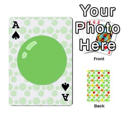 Ace Pl Cards Balloon By Galya   Playing Cards 54 Designs   Crma2fwyuvqs   Www Artscow Com Front - SpadeA
