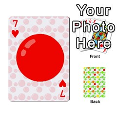 Pl Cards Balloon By Galya   Playing Cards 54 Designs   Crma2fwyuvqs   Www Artscow Com Front - Heart7