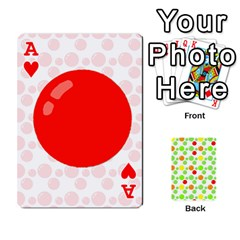 Ace Pl Cards Balloon By Galya   Playing Cards 54 Designs   Crma2fwyuvqs   Www Artscow Com Front - HeartA