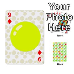 Pl Cards Balloon By Galya   Playing Cards 54 Designs   Crma2fwyuvqs   Www Artscow Com Front - Diamond9