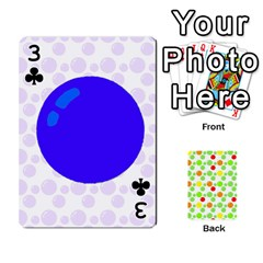 Pl Cards Balloon By Galya   Playing Cards 54 Designs   Crma2fwyuvqs   Www Artscow Com Front - Club3