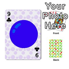 Pl Cards Balloon By Galya   Playing Cards 54 Designs   Crma2fwyuvqs   Www Artscow Com Front - Club9