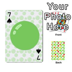 Pl Cards Balloon By Galya   Playing Cards 54 Designs   Crma2fwyuvqs   Www Artscow Com Front - Spade7