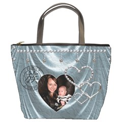 Family/friends Bucket Bag By Lil    Bucket Bag   Lqp5e110ggsp   Www Artscow Com Front