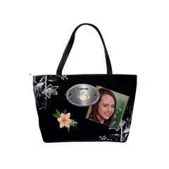 Cancer Zodiac Shoulder Bag By Lil    Classic Shoulder Handbag   Lamuhp2weefk   Www Artscow Com Back