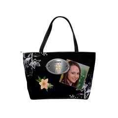 Gemini Zodiac Shoulder Bag By Lil    Classic Shoulder Handbag   1irjwwqnlyt7   Www Artscow Com Back