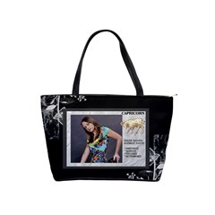 Capricorn Zodiac Shoulder Bag By Lil    Classic Shoulder Handbag   3big6wdfd5xu   Www Artscow Com Front