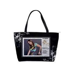 Scorpio Zodiac Shoulder Bag By Lil    Classic Shoulder Handbag   Hvp4k7525569   Www Artscow Com Front