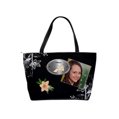 Virgo Zodiac Shoulder Bag By Lil    Classic Shoulder Handbag   577i480f89gj   Www Artscow Com Back