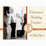 Holiday collection 1 - 5  x 7  Photo Cards