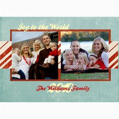 Holiday Collection 1 By April Williams   5  X 7  Photo Cards   V8n8fd09neyr   Www Artscow Com 7 x5 Photo Card - 4