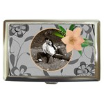 Pretty Floral Cigarette/Money Case - Cigarette Money Case