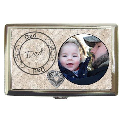 Dad Cigarette/money Case By Lil    Cigarette Money Case   Ngtzub69sjbj   Www Artscow Com Front
