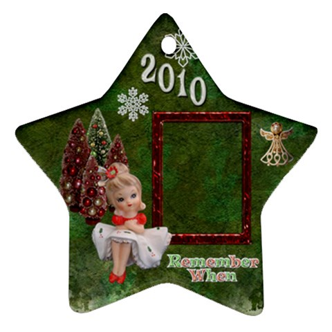 Napco Girl Remember When 2010 Ornament 3 By Ellan   Ornament (star)   Wwwsq5ung1q5   Www Artscow Com Front