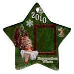 Napco Girl Remember when 2010 ornament 3 - Ornament (Star)