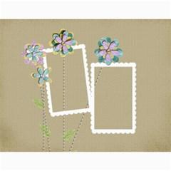 Calendar   Template (cherished Memories) By Jennyl   Wall Calendar 11  X 8 5  (12 Months)   Rq15ceifsb1e   Www Artscow Com Month