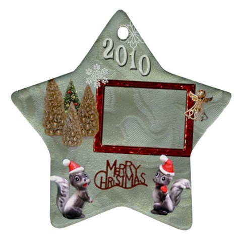Remember When 2010 Ornament 16 By Ellan   Ornament (star)   Liqtx21c0uk9   Www Artscow Com Front