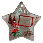 Elf Remember when 2010 ornament 22 - Ornament (Star)