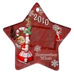 angel Remember when 2010 ornament 28 - Ornament (Star)
