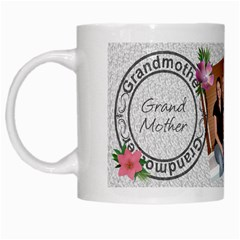 Grandmother Mug By Lil    White Mug   Shulepbm3nq0   Www Artscow Com Left