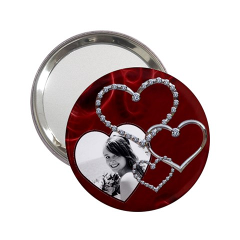 Chrome Heart Handbag Mirror By Lil    2 25  Handbag Mirror   Hhjmn5cpa274   Www Artscow Com Front