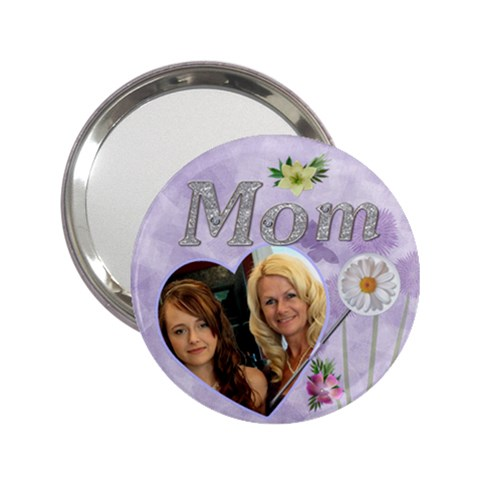 Mom Handbag Mirror By Lil    2 25  Handbag Mirror   Jh46n7vp571s   Www Artscow Com Front