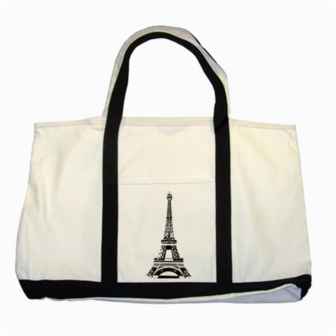 Pairs By Wood Johnson   Two Tone Tote Bag   Ffoqd3kcel6k   Www Artscow Com Front