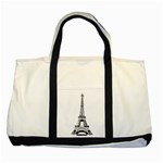 Pairs - Two Tone Tote Bag