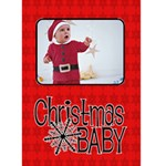 Christmas Baby - Custom Greeting Card 5  x 7