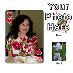 Gee Cards1 By Elle   Playing Cards 54 Designs   Wzmny1s0b7on   Www Artscow Com Front - Heart10