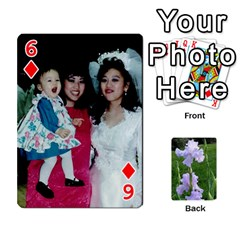 Gee Cards1 By Elle   Playing Cards 54 Designs   Wzmny1s0b7on   Www Artscow Com Front - Diamond6