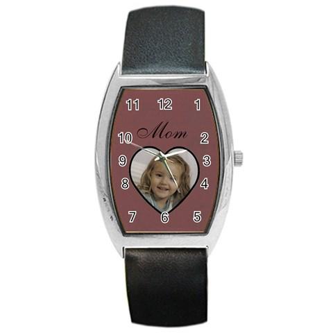 Mom Watch By Amanda Bunn   Barrel Style Metal Watch   Cnplcl1b3ioj   Www Artscow Com Front