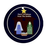 Christmas Ornament Nativity - Ornament (Round)